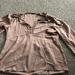 Beautiful brown blouse from Buckle